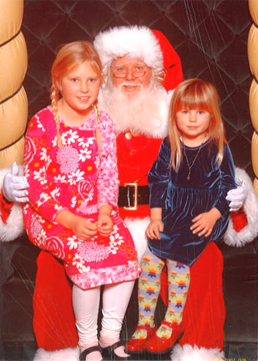 The Anderson girls of the City By the Bay make Santa look positively colorless