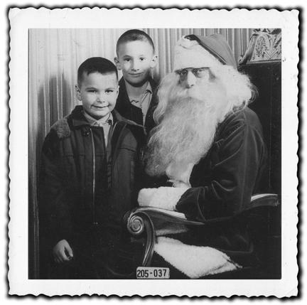 Robert Sullivan and brother visit the man.